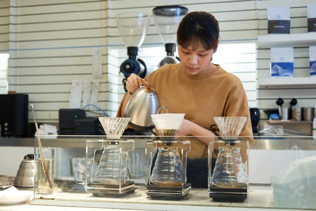 Kaizen Coffee Barista