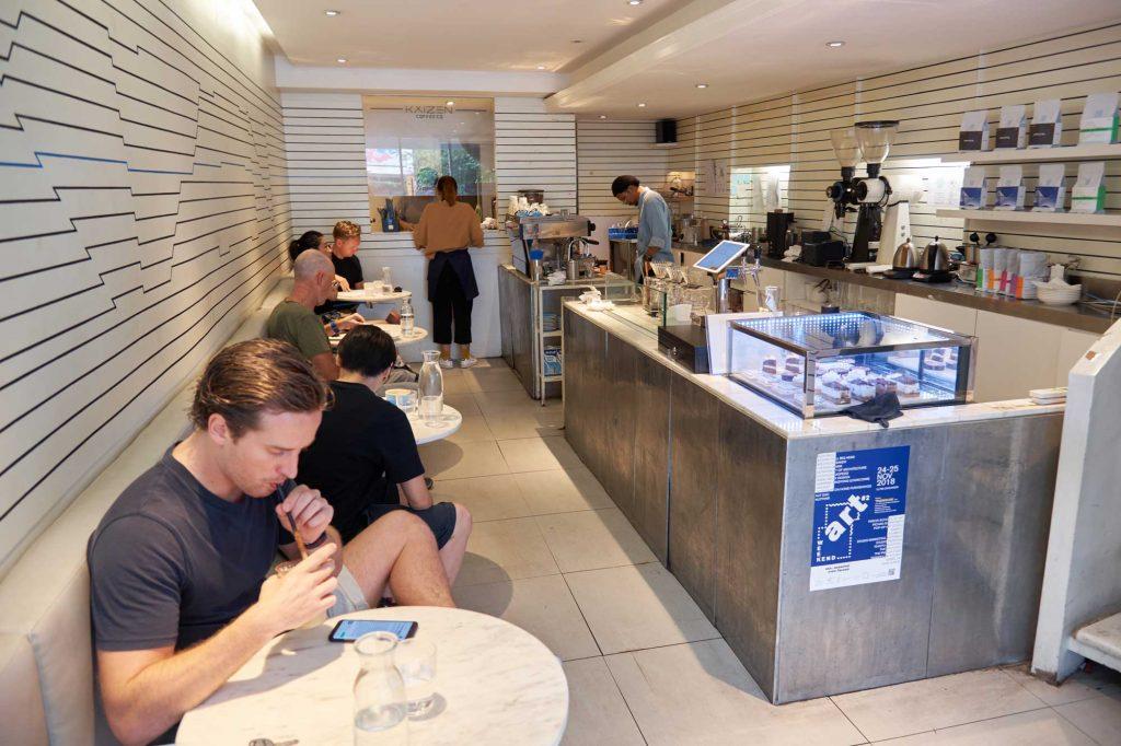 Kaizen Coffee Interior