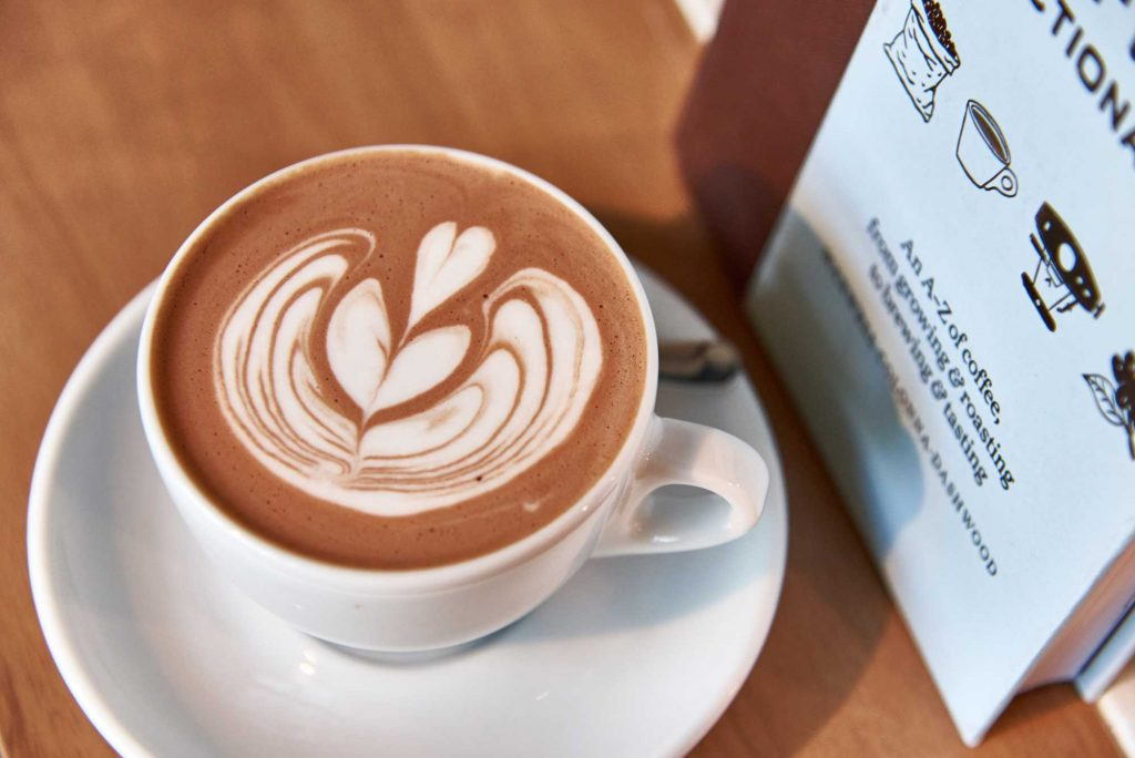 Kohi Roastery Cafe Hot Chocolate