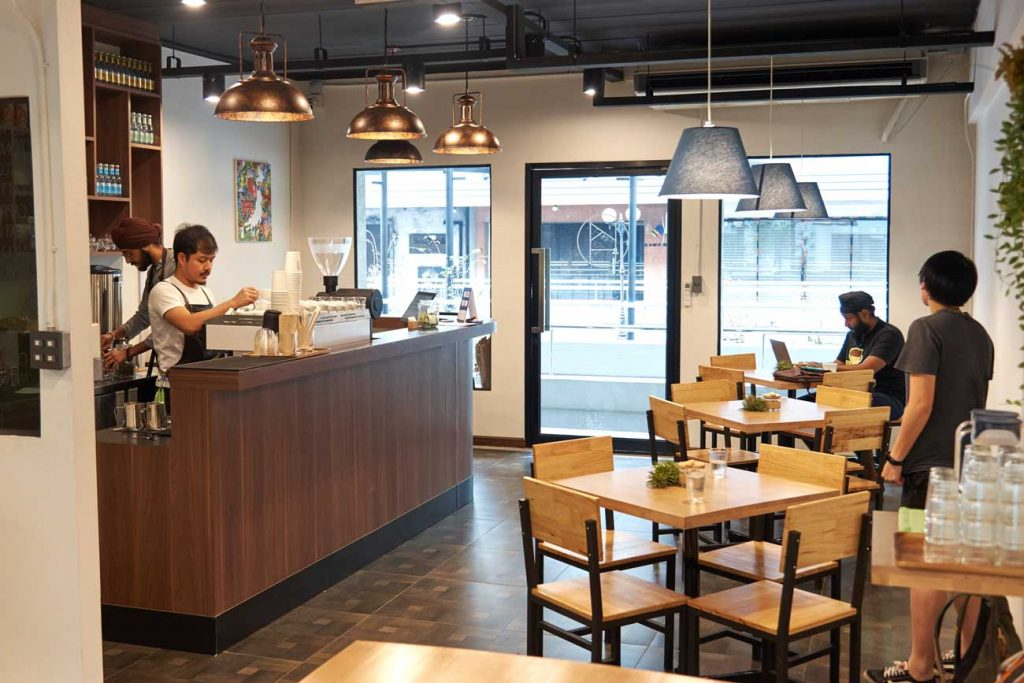Kohi Roastery Cafe Interior