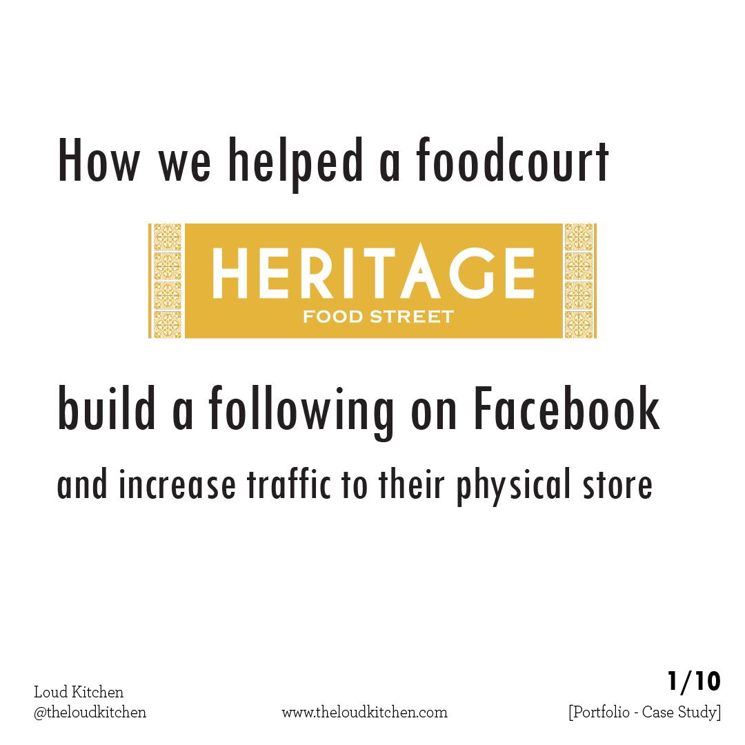 Heritage Food Street 1 title