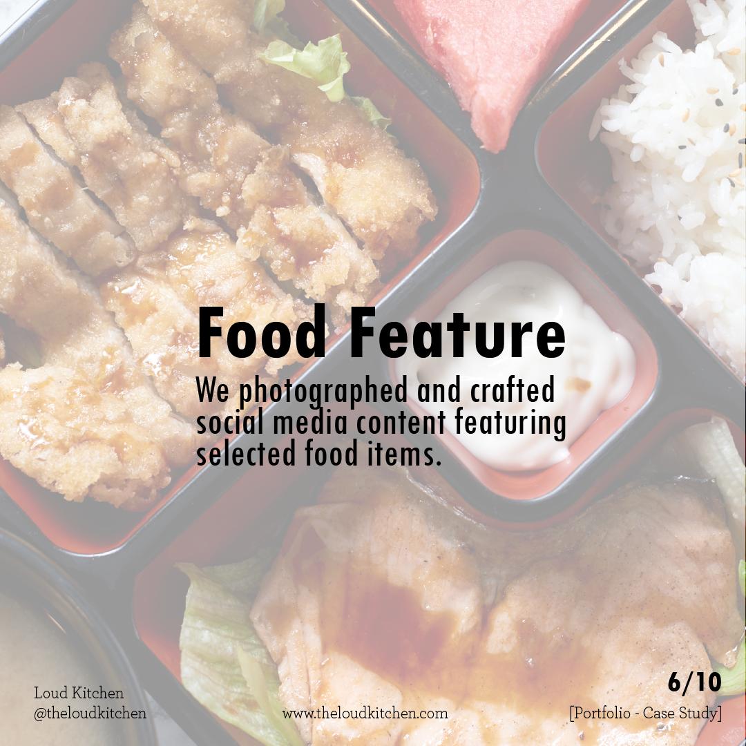 Heritage Food Street 6 food feature posts
