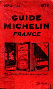 Michelin Guide 1929